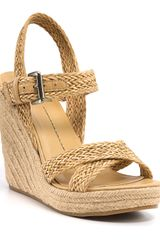 Dolce Vita Dv Winslow Wedge Sandals - Lyst