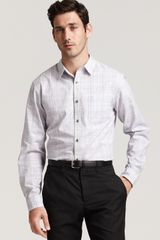 Elie Tahari Julian Classic Fit Plaid Sport Shirt - Lyst