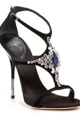 Giuseppe Zanotti Jeweled Evening Sandals