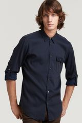 Marc By Marc Jacobs Martin Slim Fit Striped Woven Shirt - Lyst
