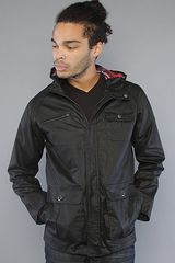 Nixon The Huntsman Jacket in Black - Lyst