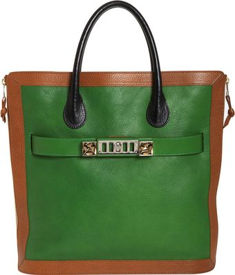 Proenza Schouler Ps11 Leather Tote - Lyst