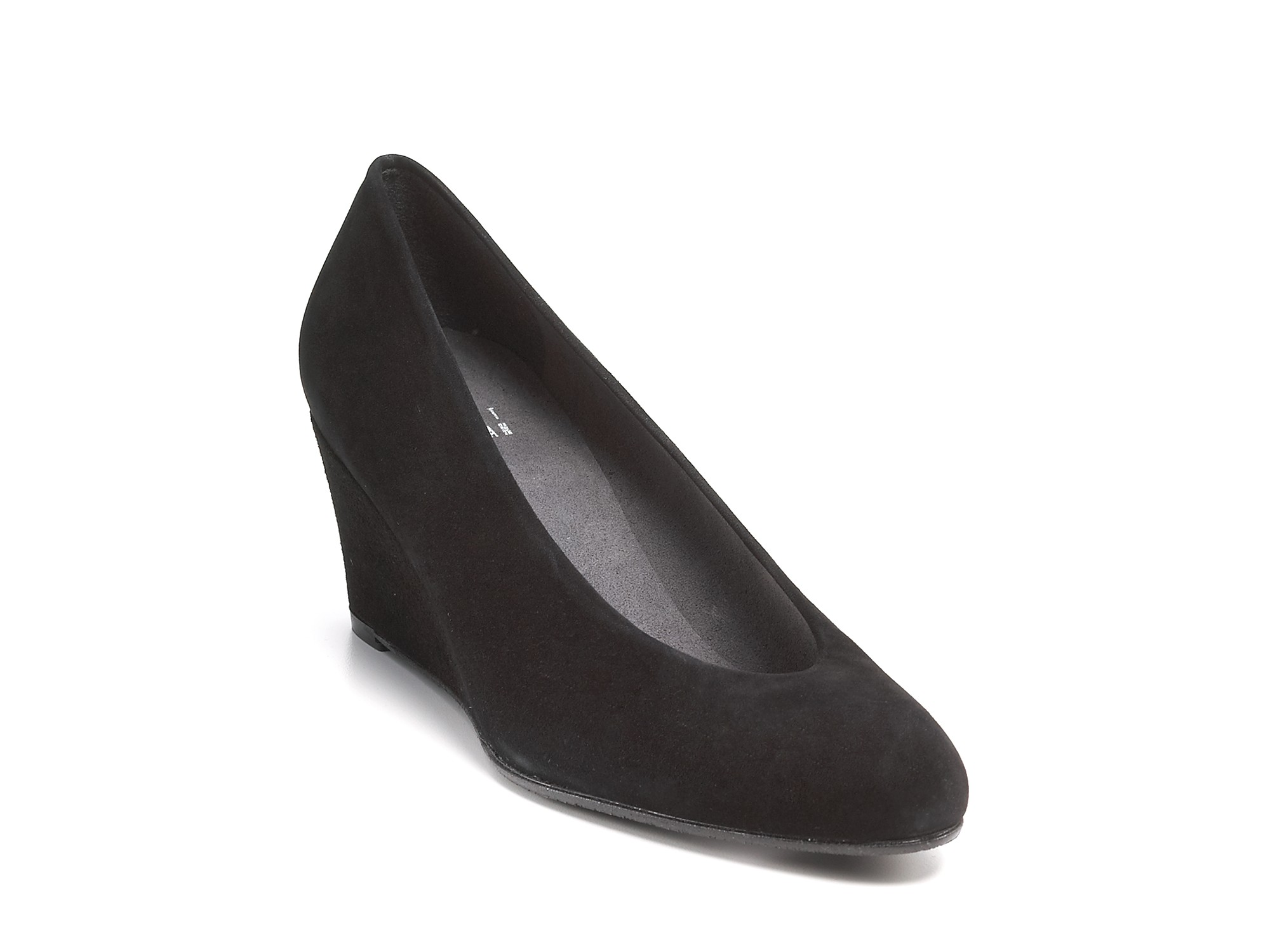 266c5a0b34ce9 Stuart Weitzman Ambient Wedge Pumps in Black - Lyst