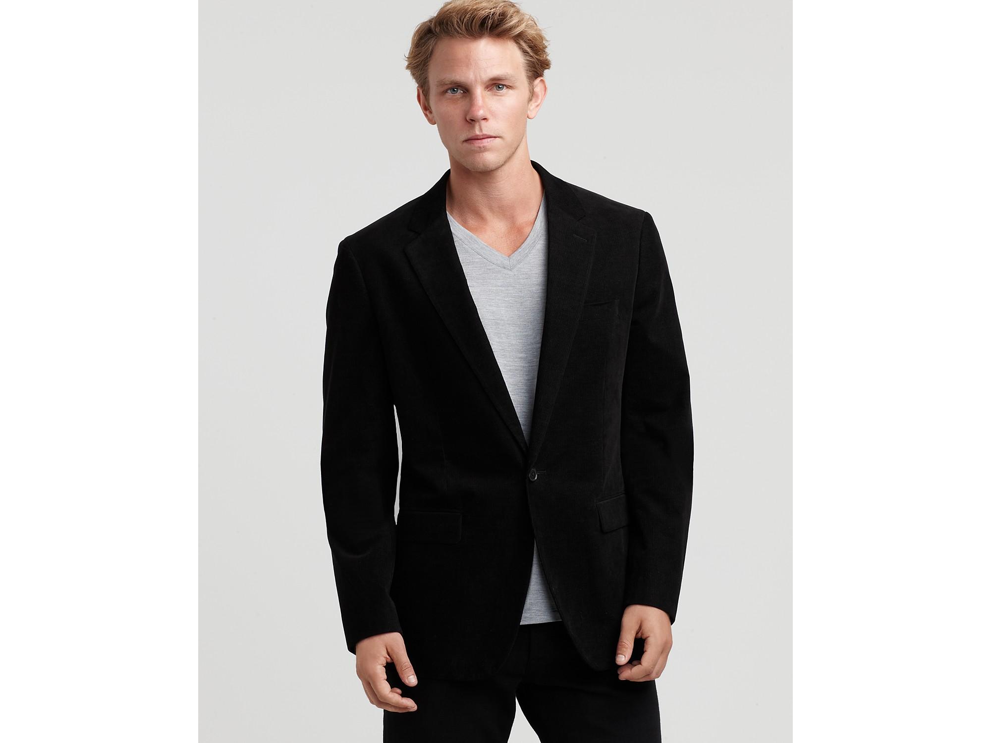 d71765185a Theory Kris Corduroy Blazer in Black for Men - Lyst