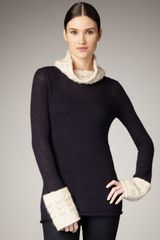 Tory Burch Fermion Knit Turtleneck - Lyst
