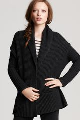 Vince Shawl Collar Car Coat - Lyst