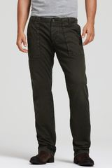 Woolrich Olive Fatigue Relaxed Fit Pant - Lyst