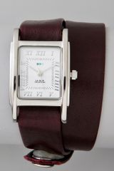 La Mer Collections Silver Watch with Interchangeable Straps - Lyst