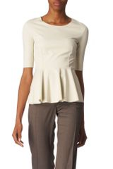 Stella McCartney Stretch-Jersey Peplum Top