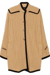Marc By Marc Jacobs Wool-blend Cable-knit Cape - Lyst