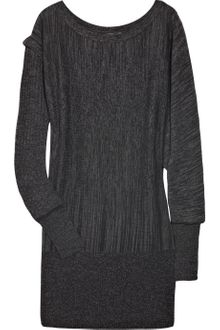 Aminaka Wilmont Asymmetric Wool-blend Sweater Dress - Lyst