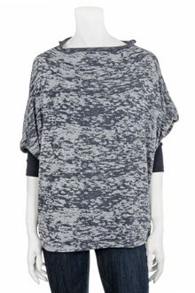 Jet By John Eshaya Exclusive Tie Dye Cocoon Top - Lyst