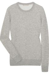 Michael Kors Cashmere and Cotton-blend Sweater - Lyst