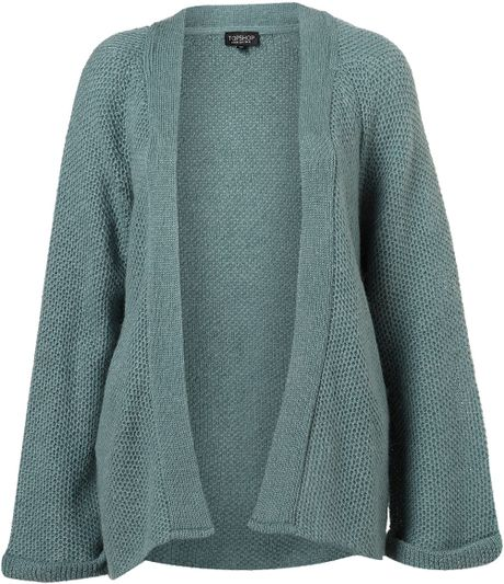 Womens Duck Egg Blue Cardigan 70