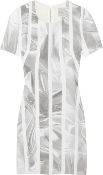 Dion Lee Printed Silk-blend Dress - Lyst