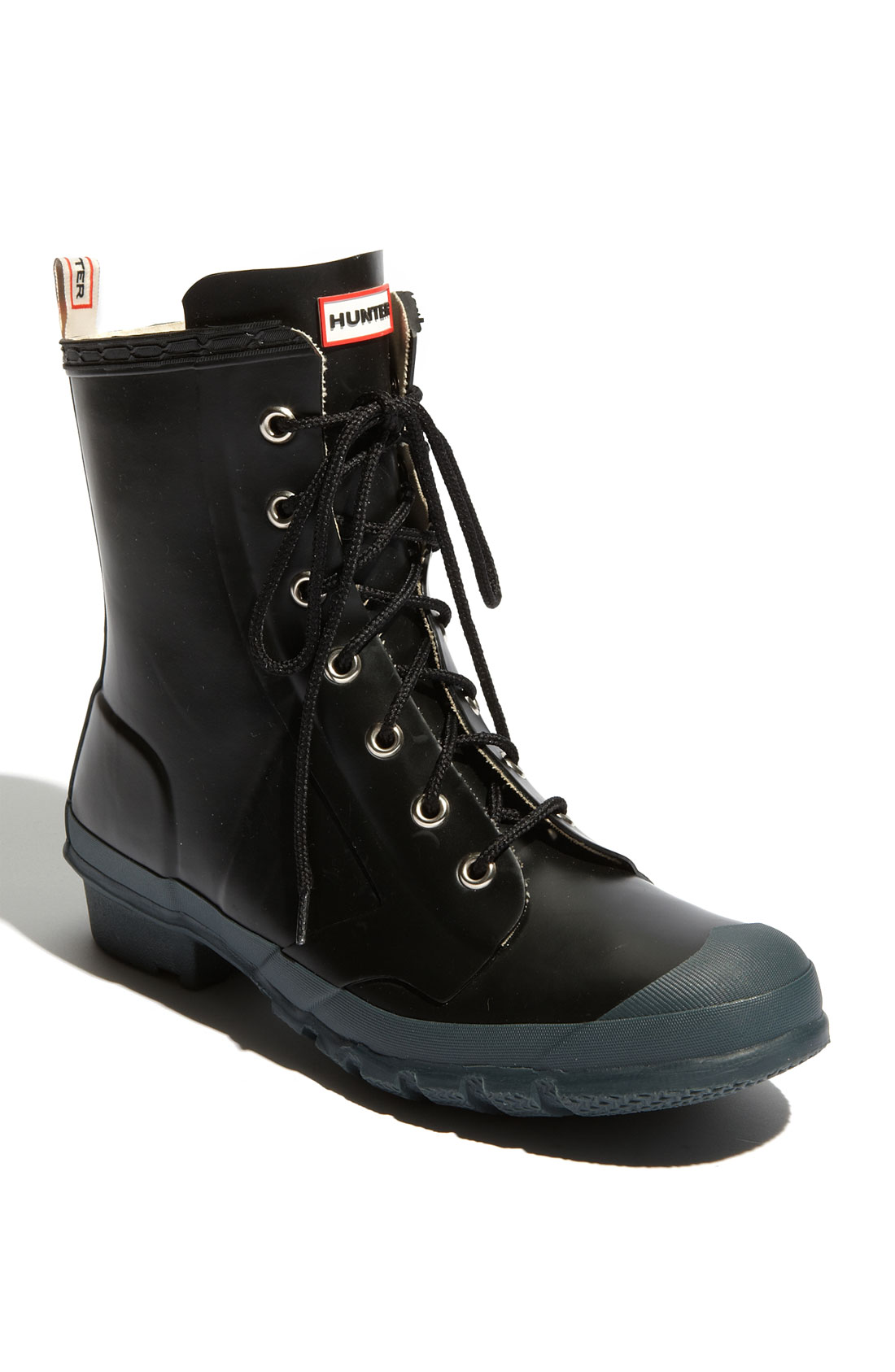 bormio boot in black for lyst
