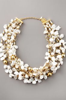 Jose & Maria Barrera Keshi Pearl Necklace - Lyst