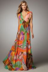 Matthew Williamson Printed Maxi Coverup - Lyst