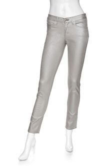 Rag & Bone Exclusive Midrise Skinny Leggings: Silver - Lyst
