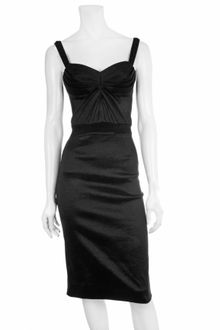 Z Spoke by Zac Posen Taffeta Pleat Dress - Lyst