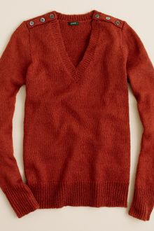 J.Crew Wynter V-neck Sweater - Lyst