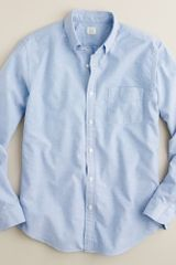 J.Crew Vintage Solid Oxford Shirt - Lyst