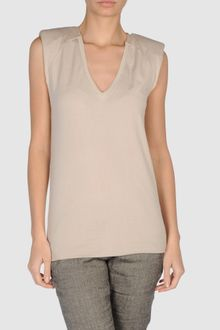 Laneus Sleeveless T Shirts - Lyst