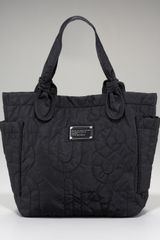 Marc By Marc Jacobs Pretty Nylon Little Tate Tote, Black - Lyst