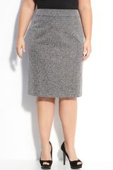 Sejour Bouclé Pencil Skirt - Lyst