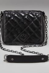Tory Burch Quilted Leather Mini Bag - Lyst