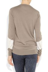3.1 Phillip Lim Reindeer Merino Woolblend Sweater in Brown (taupe) - Lyst