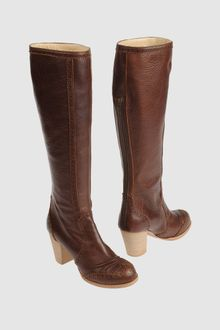 John Galliano High Heeled Boots - Lyst