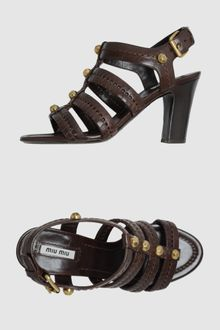 Miu Miu High Heeled Sandals - Lyst