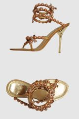 Rene Caovilla Highheeled Sandals - Lyst