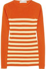Stella McCartney Striped Fine-knit Wool Sweater - Lyst