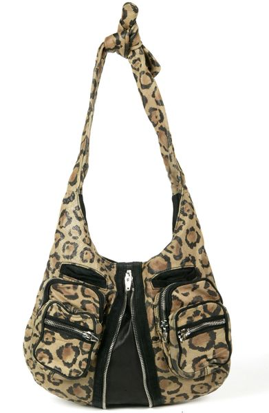 Alexander Wang Leopard Print Hobo in Animal (leopard) - Lyst