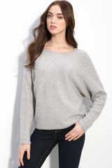 Only Mine Stitch Detail Sweater - Lyst