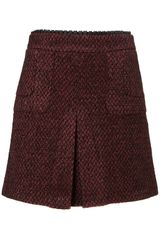 Topshop Co-ord A-line Boucle Skirt - Lyst