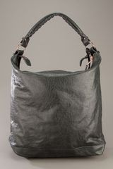 Balenciaga Giant Day Bag in Gray (grey) - Lyst