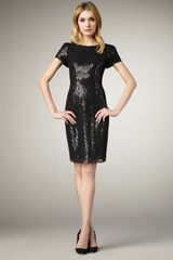 Elie Tahari Lolly Sequined Dress - Lyst
