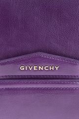 Givenchy Clutch Bag in Purple (prune) - Lyst