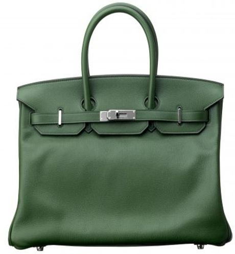 Hermes Laurier Evergrain Birkin in Green - Lyst