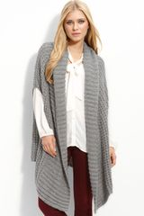 Hinge ® Honeycomb Sweater Cape - Lyst