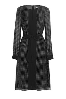 Jaeger Polka Dot Dress - Lyst