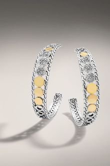 John Hardy Hoop Earrings - Lyst