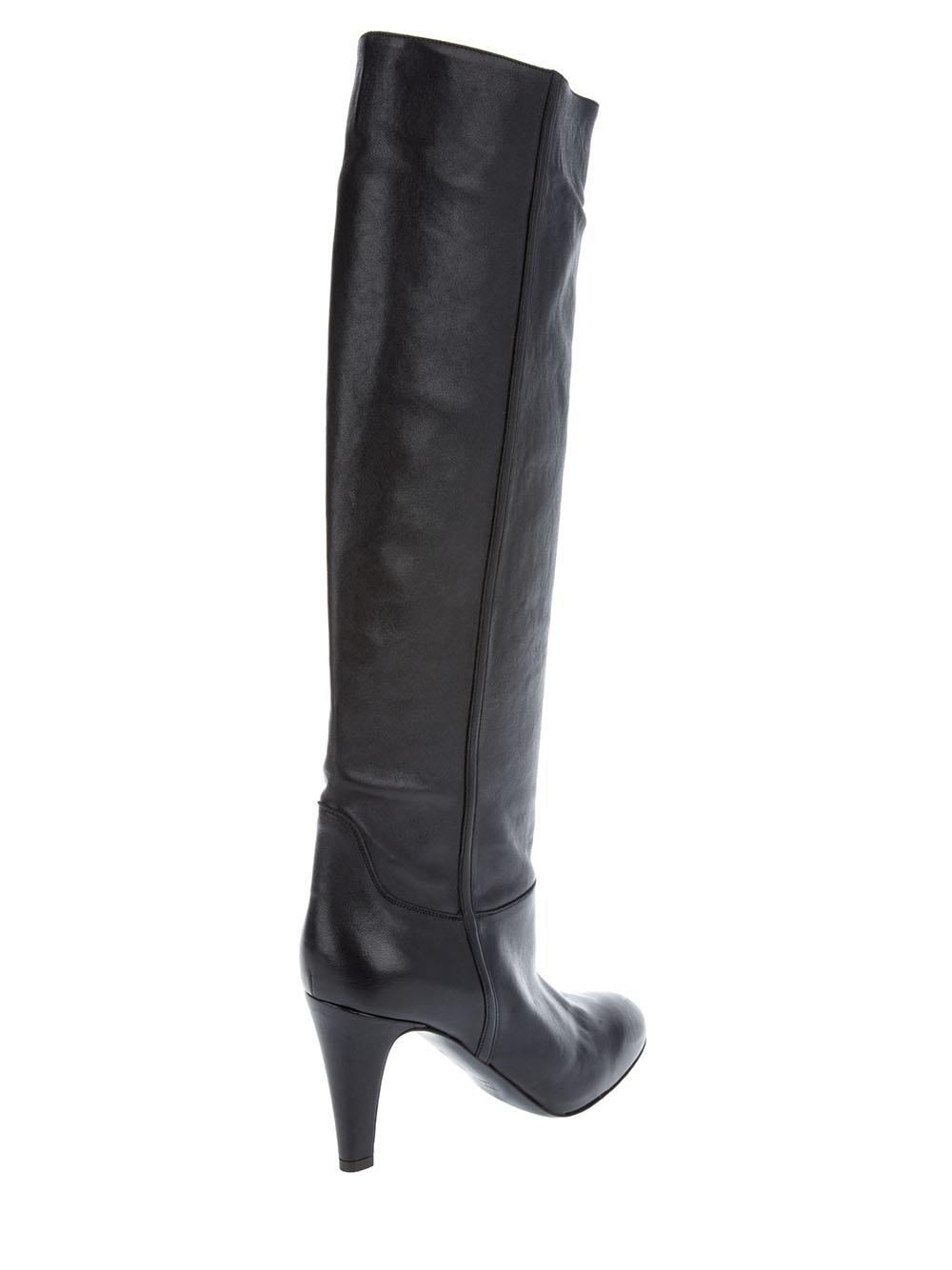L\'autre chose Long Boot in Black | Lyst