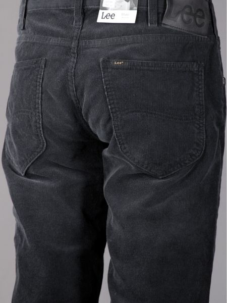 Mens Black Stretch Jeans