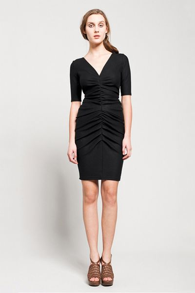 Obakki Hutton Dress in Black - Lyst