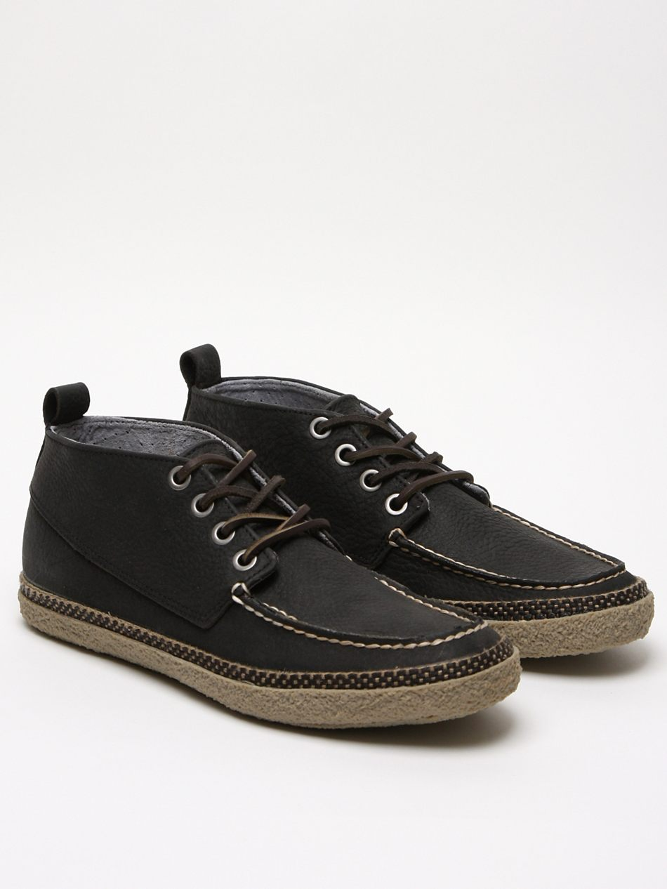Seavees Mens Bayside Moccasin Chukka In Black For Men Lyst