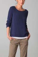 Vince Raglan Crew Neck Sweater - Lyst